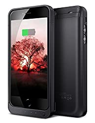 iPhone 5S Battery Case, HianDier 4200mAh Rechargeable External Battery Case iPhone 5/5S/SE Power Bank Case Battery Pack Portable Charger Charging Case for Apple iPhone 5/5S/SE-Black