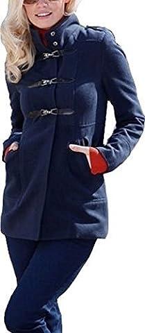 Mantel Dufflecoat aus dem Hause Heine - Blau Gr. 40
