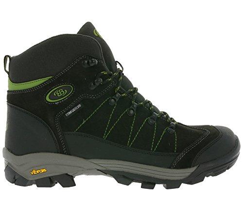 Bruetting Herren Mount Ray High S Trekking-& Wanderstiefel Grau (Grau (GRAU/SCHWARZ/LEMON))