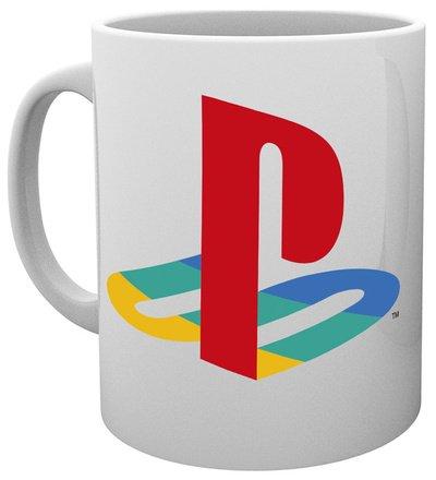GB eye, Playstation, Colour Logo, Tazza