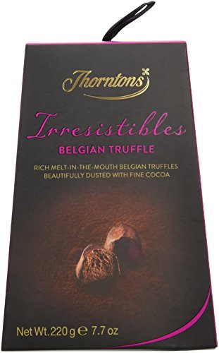 Thorntons Irresistible Belgian Chocolate Truffles 220 g
