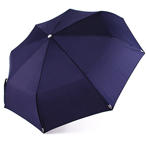 GTWP GT Regenschirm Automatisch Mode 3 Folding Umbrella, Sonnenschirm Stockschirm Robuste winddicht Anti-UV-Sonnenschutz Dach