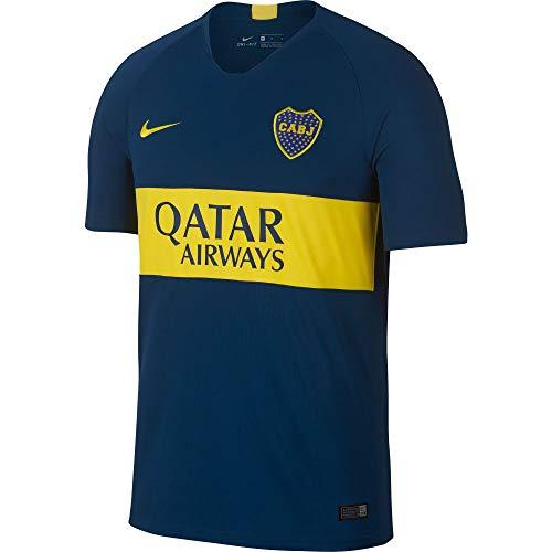 Nike Boca Home STD JSY Fußballtrikot für Herren L Brave Blue/Tour Yellow/Tour Yellow
