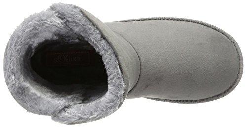 s.Oliver 26476, Bottes et Bottines Souples Femme Gris (Grey)