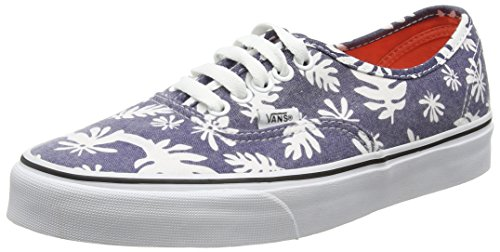 Vans Authentic Scarpe da Ginnastica Basse, Unisex Adulto, Blu (washed Kelp/navy/white), 37  EU