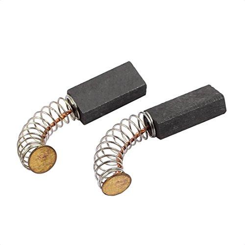 sourcingmap Paar 16x8x5mm Kohlebürsten Elektrowerkzeug für elektrischer Hammer Bohrmaschine