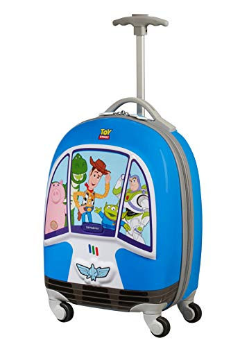 Samsonite Disney Ultimate 2.0 - Valigia per Bambini, 46.5 cm, 20.5 L, Blu (Toy Story Take-Off)
