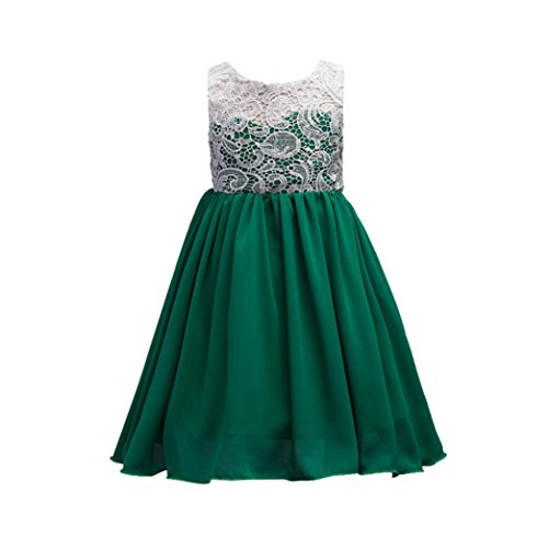 Fuibo Mädchen Partykleid, Festlich Kleid...