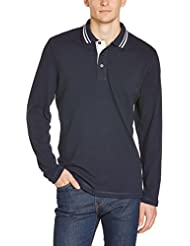 JAMES & NICHOLSON Poloshirt  Men's Long-Sleeve - Polo - Homme