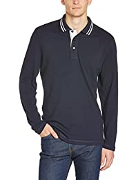 James & Nicholson Herren Poloshirt Poloshirt Men's Long-Sleeve