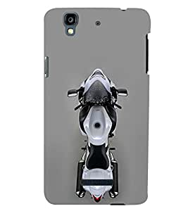 PRINTSWAG BIKE Designer Back Cover Case for MICROMAX YU YUREKA