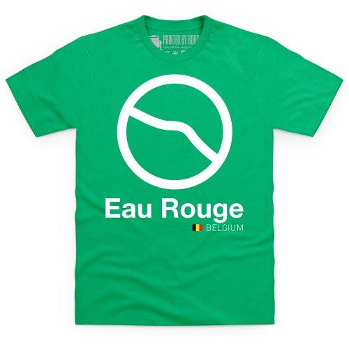 General Tee Classic Curves - Eau Rouge T-Shirt, Herren Keltisch-Grn