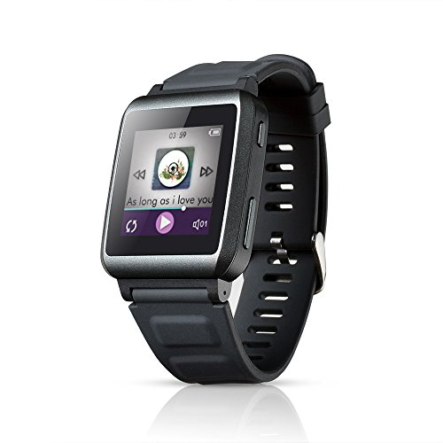 agptek-w1-16gb-15-zoll-touchscreen-bluetooth-mp3-player-musik-uhr-smartwatch-mit-bluetooth-grau