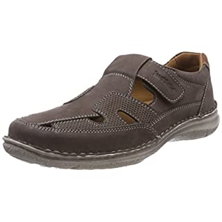 Josef Seibel Herren Anvers 81 Slipper, Grau (Anthrazit), 46 EU
