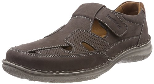 Josef Seibel Herren Anvers 81 Slipper, Grau (Anthrazit), 45 EU