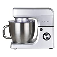 Cookmii 1800W Food Stand Mixer With 6.5 L Stainless Steel Bowl (silver)