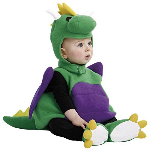 My Other Me Me - Disfraz de bebé dinosaurio, 7-12 meses (Viving Costumes 202651)