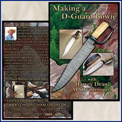 Making a D-Guard Bowie with Harvey Dean, ABS Mastersmith (2 Dvds) -