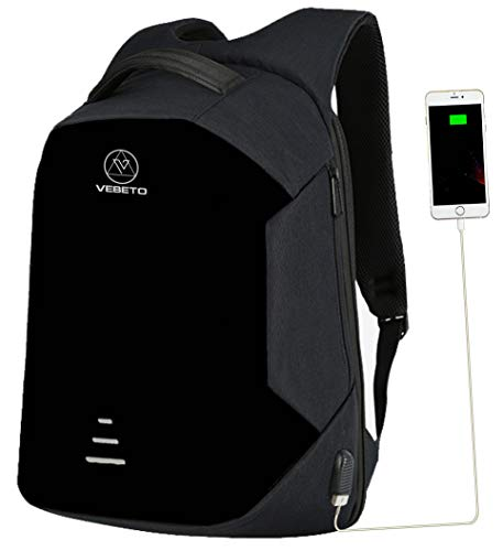 Best Vebeto Anti Theft Backpack with USB Charging in India 2020 Image 1