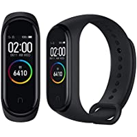 "Xiaomi Mi Band 4 Bracelet Écran Couleur 0,95""AMOLED Écran Tactile Fitness Tracker Bracelet Intelligent Bluetooth Cardiofréquencemètre Bracelet Activité Sportive Montre Watch Noir"