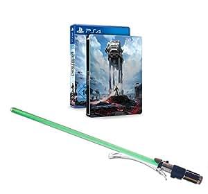 Star Wars Battlefront - Steelbook Edition inkl. Lichtschwert Yoda (exklusiv bei Amazon.de) - [PlayStation 4]
