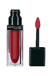 Maybelline New York Color Sensational Liquid Lip Velvet, Neon Red, 5ml