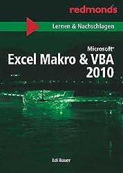 """EXCEL 2010 MAKRO & VBA LERNEN UND NACHSCHLAGEN A5: redmond's Taschenbücher """"Lernen und Nachschlagen"""""""