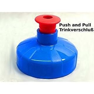 Raccord 1 bouchon push pull) &de 1 l et 0,5 l alvito bouteilles tritan, eau filtrée aquadea bouchons wasser. bouchon sport