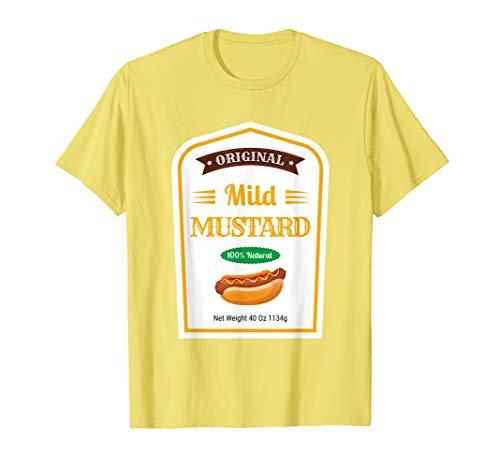 Mild Mustard Senf Familie Sauce Kostüm Halloween Uniform T-Shirt (Halloween Senf Kostüm)