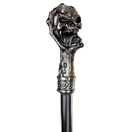 Design Toscano Halloween qs23018der dragonsthorne Kollektion Death 's Grip Totenkopf und Klauen Gehstock (Halloween Gehstöcke)