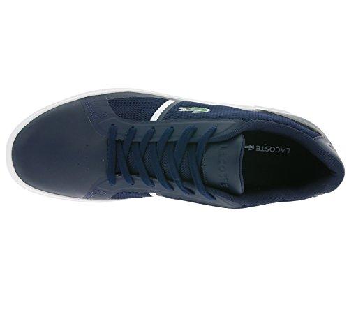 Lacoste STRIDEUR 116 1 SPM Schuhe Sneaker Turnschuhe Blau 7-31SPM0013003 Blau