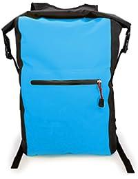 MyGadget Wasserdichte Dry Bag [25L Rucksack] Roll Top Daypack Wasserfest - PVC Trockenbeutel Drybag Outdoor Tasche für Wasser Sport & Wandern in Hellblau