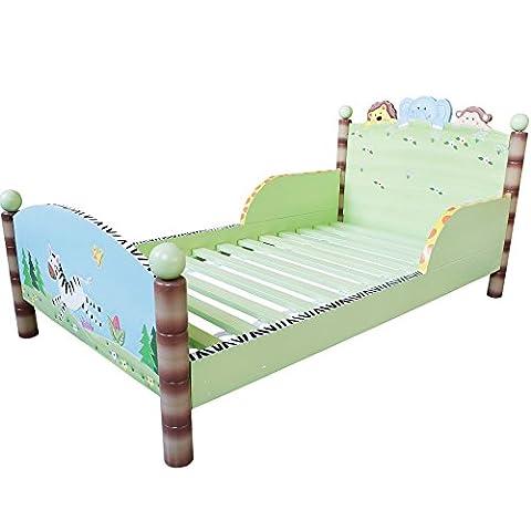 Primary PRODUCTS LTD Lit pour Enfant Sunny Safari Multicolore