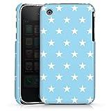 DeinDesign Coque Compatible avec Apple iPhone 3Gs Étui Housse Petite Étoile Bleu Bébé Stars
