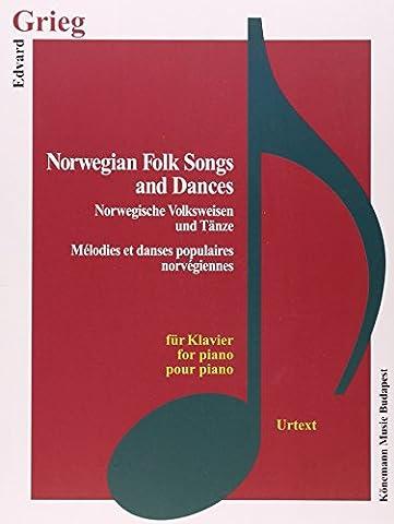 Grieg, Norwegian Folk Songs and Dances