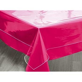 d cor10 nappe de table transparent largeur 160 cm transparente paisseur 0 10 mm au m tre 6. Black Bedroom Furniture Sets. Home Design Ideas