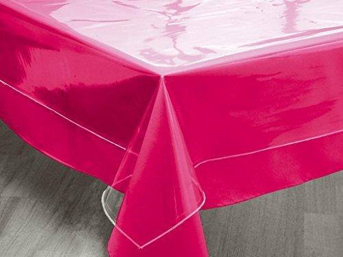 Soleil d'ocre 853600 CRISTAL Nappe carrée transparente PVC Transparent 180 x 180 cm