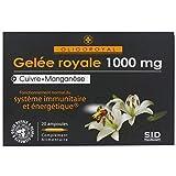 Oligoroyal geléé royale + Cuivre + Manganèse 20 ampoules Tonus et...