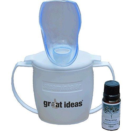 Inhalador vapor, Medipaq®, aliviar dolor senos respiratorios