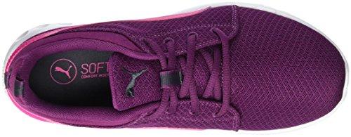 Puma Carsonmeshwf6, Chaussures d'Athlétisme Femme Violet (Purple/Pink 02)