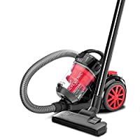 ‏‪Black+decker 1600w Bagless Cyclonic Canister Vacuum Cleaner Vm1680-b5, Multi-Colour‬‏