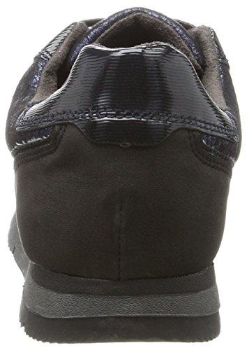 Tamaris 23601, Sneakers Basses Femme Bleu (Navy Comb)