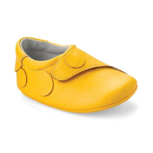 Bobux 460673, Chaussures souples mixte enfant Jaune (pineapple)
