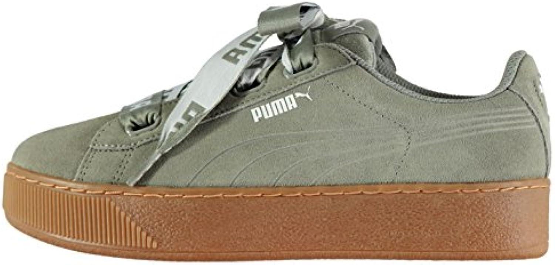 Official Shoes Adidas-Schuhe, Puma Damen Vikky Platform Band Trainer mit Turnschuhe Sneakers