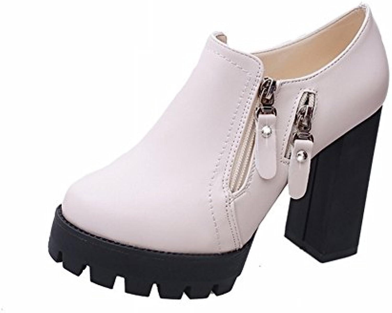les chaussures étanches des de métaux talons haut tableau avec une grosse boîte de des chaussures, buff, eur37 b0779nn2rn parent 49435b