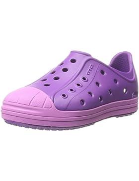 Crocs Bumper Toe Shoe Kids, Unisex-Kinder Low-Top Sneaker, Schwarz (Black/Oyster 02U), 27/28 EU