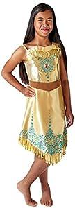 Rubies 640731 9 - 10 Disfraz de princesa Disney Pocahontas Gem, Niñas, XL