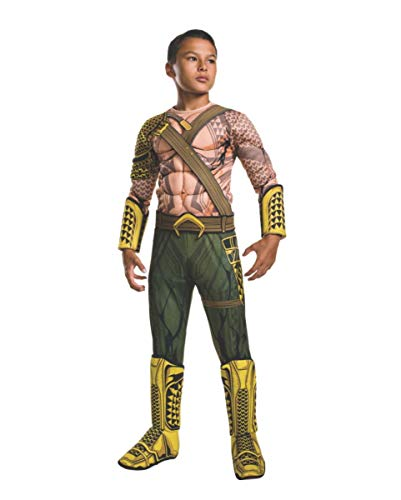 Horror-Shop Original Aquaman Deluxe Kostüm für Kinder-Fasching ()