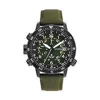 Citizen BN4045-12X Herenhorloge op zonne-energie met nylon armband