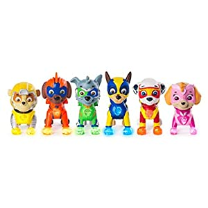 PAW PATROL 6046559 Mighty Pups Gift Set, Mixed Colours